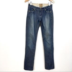 Rich & Skinny Straight Leg Light Wash Jeans